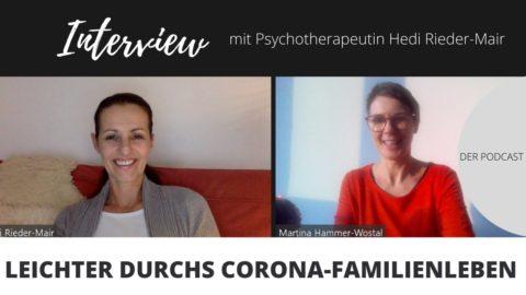 Psychotherapeutin hedi Rieder-Mair hat Tipps für das Corona-Familienleben